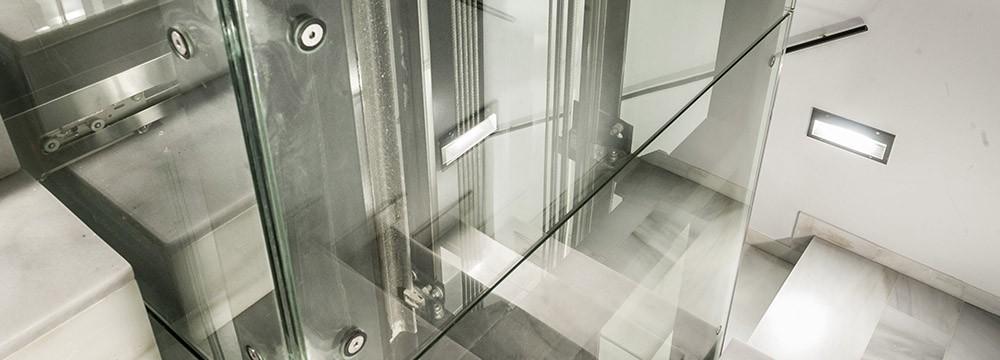 innovación ascensores acristalado