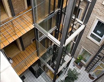 Adaptaci n exterior al edificio ascensores ruiz for Exterior edificios