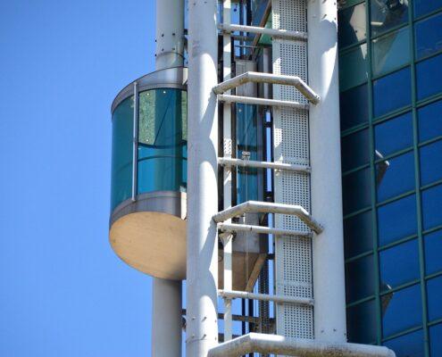Materiales de los ascensores
